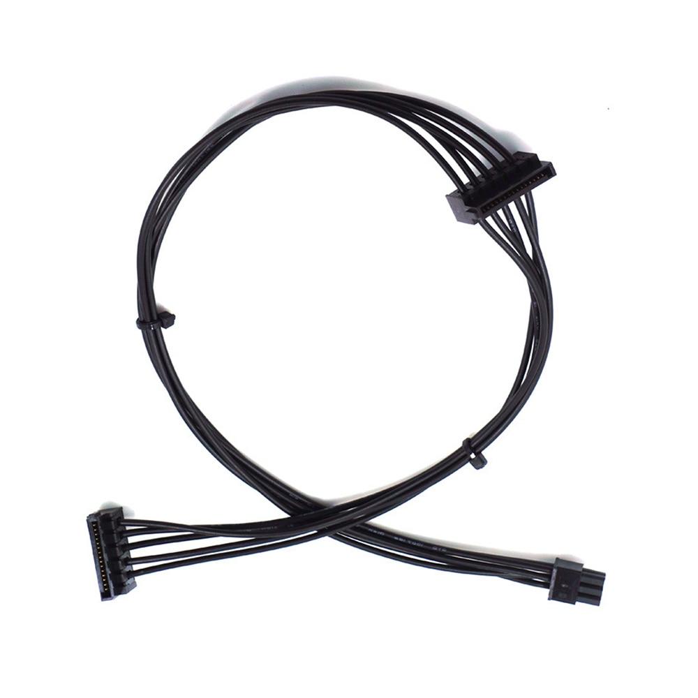 Мини 6-контактный к 2 SATA 15PIn кабель питания для Dell Vostro 3070 3670 1 шт.