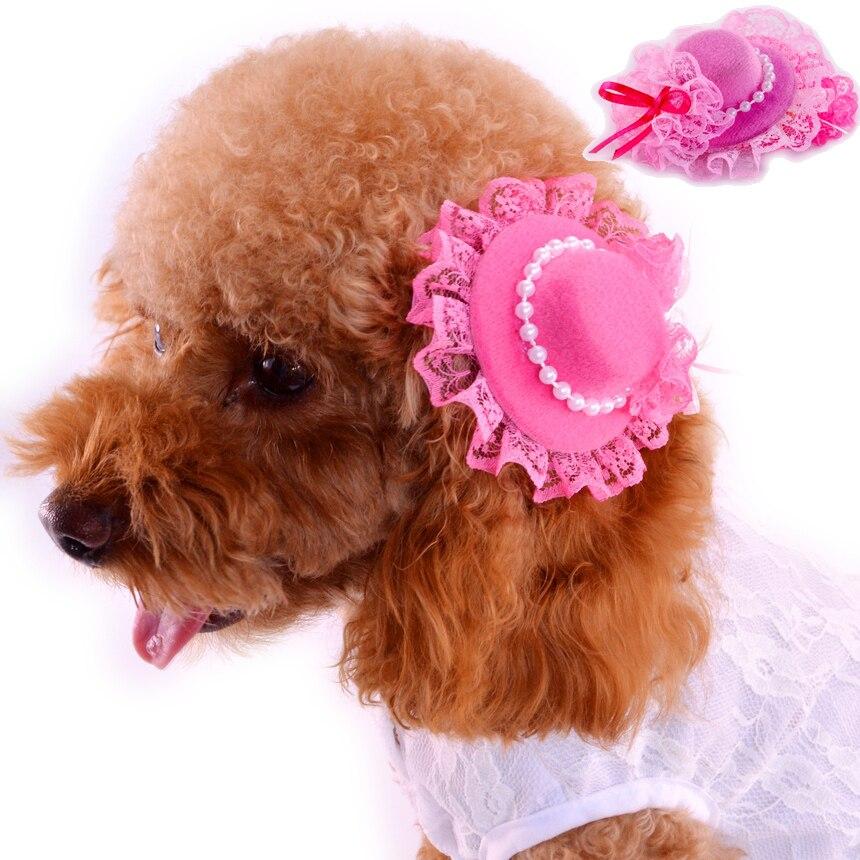 pacchetto alla moda e attraente nuova versione stili di grande varietà US $3.51 10% di SCONTO Pizzo Accessori Per Cani Yorkshire 4 pz/lotto  Rosa/Rosso Tornante Y045 Fashion Chihuahua Yorkshire Gatto Grooming  Prodotti ...