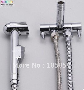 Free shipping! wholesale! HOT SALE!basin Bathroom valve jet hand sprayer,item V01 brass body