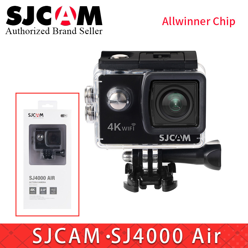 SJCAM SJ4000 AIR 4 K WiFi caméra d'action Full HD 30fps Sport DV 2.0