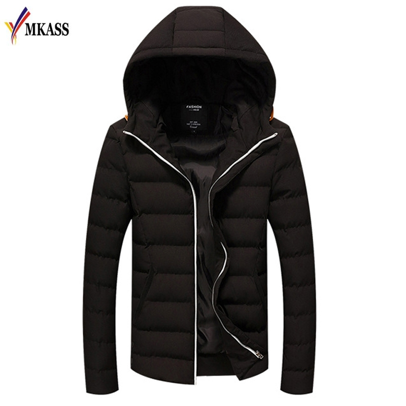 2017 New Winter Parka Men Jacket Coat Outerwear Fashion Hood Padded Quilted Warm Male Jackets Hooded Casual Wadde new men winter jacket fashion brand clothing cotton padded down parka male thick warm comfortable outerwear coat hood detachable