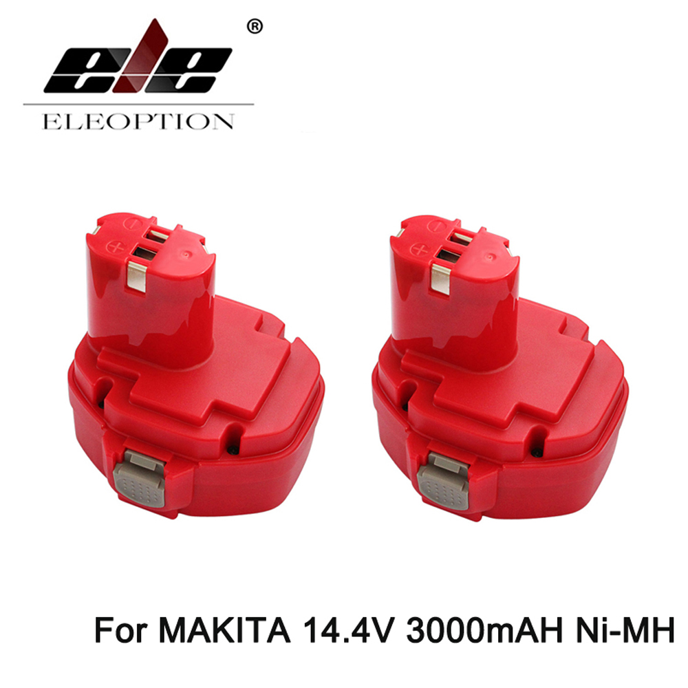 2PCS Ni-MH 14.4v 3000mAh Replacement for MAKITA power tool battery 1433 1434 1435 1435F 192699-A 193158-3 ,for 1051D 1051DWD