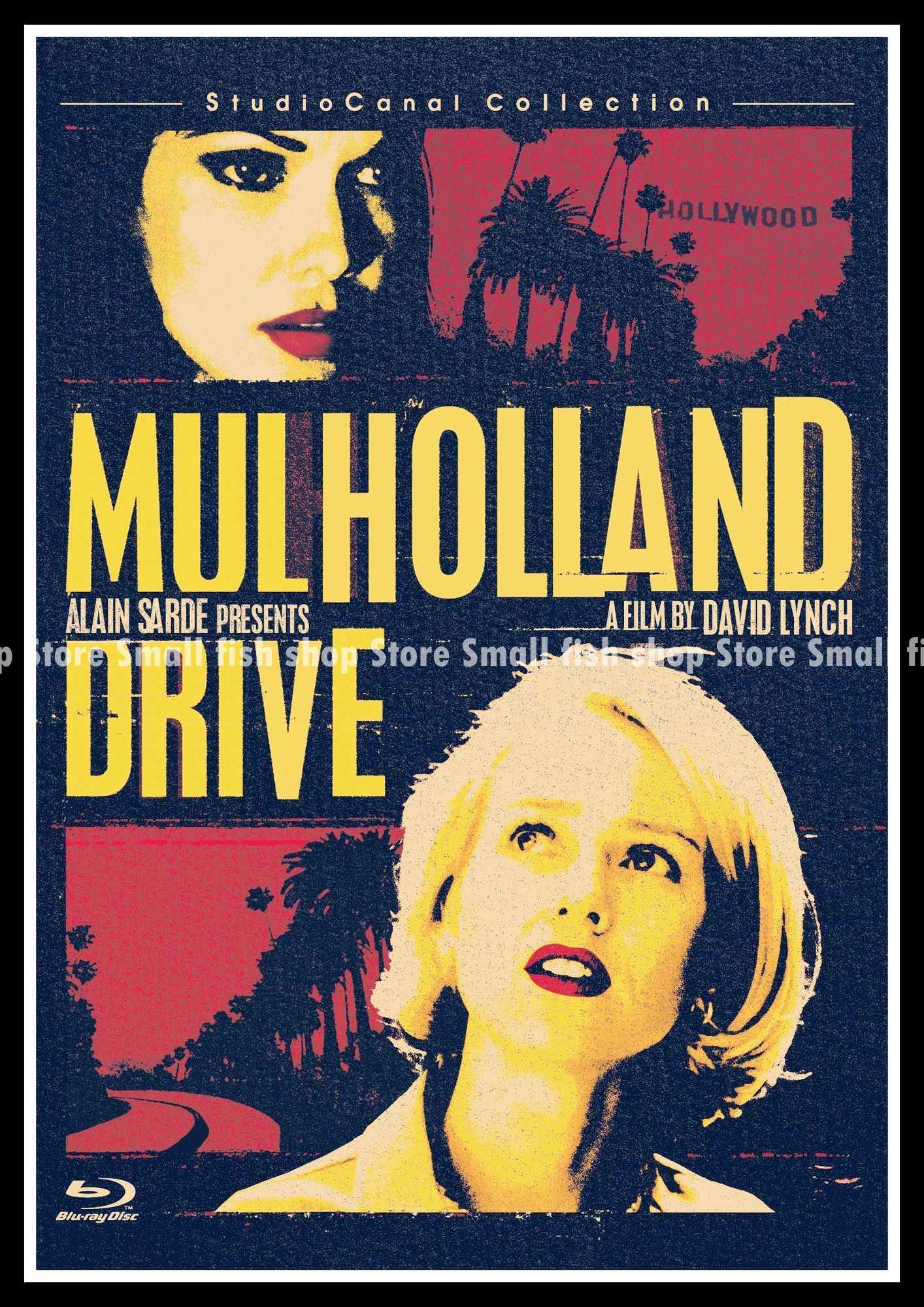 a5663de37 ... Mulholland Drive Home Furnishing decoration Kraft Movie Poster Drawing  core Wall stickers 42*30 cm ...