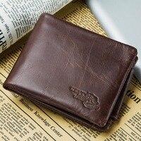 KAVIS трехслойный дизайнерский держатель для карт из натуральной кожи мужской кошелек для монет Portomonee портфель Perse Walet футляр для удостоверен...