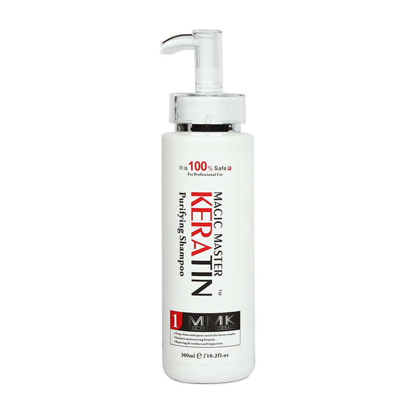 Image 5 - Without Formaldehyde 1000ml Magic Master Keratin Hair Repair Treatment Hair Care +300ml Purifying Shampoo Get Free Gifts-in Hair & Scalp Treatments from Beauty & Health