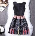 Adolescentes Vestido Para Las Niñas Traje de Verano Sin Mangas Vestido Princesa de Las Muchachas Vestidos del desfile 13 Años Monya