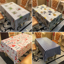 2019 New Plastic Table Cover Cloth Wipe Clean Party Tablecloth Rectangle Table Cloth Home Print Table Cloth цена 2017
