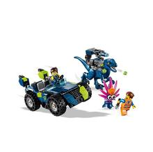 45005 Movie Rexs Rex-treme Offroader Model Building Block 265pcs Bricks Toys Gift Compatible With Bela 70826