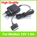 12V 1.5A for Medion Lifetab P9516 MD98131 MD99100 MD99101 tablet pc charger power adapter ADP-18AW 45N0069 45N0070 1.5M EU Plug