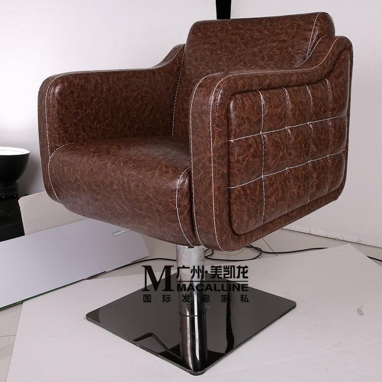 European hair salon haircut chair chair. Barber chair. Lift chair - Furniture