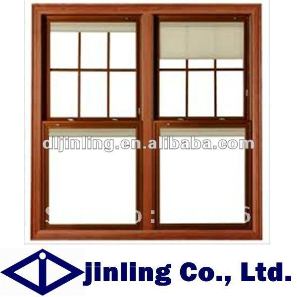 Buy grill design wood window sliding for The new window company