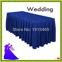 180*45*75cm 5pcs wholesale polyester table cloth event for sale free shipping