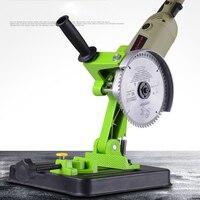 Multifunctional Metalworking Power Tool Accessories DIY Aluminum Bracket Iron Base Cutting Machine Angle Grinder Stand BG 6180
