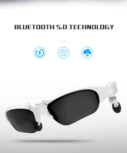 HAOHA X8S TWS Bluetooth 5.0 Headset Fashion Sunglasses Polarized earplugs Smart Glasses with Mic for Driving Outdoor
