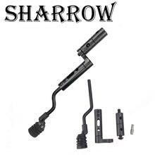 1pc Archery String Suppressor 7.6mm Level Stop Bracket Vibration Balance Stabilizer Damper Compound Bow Shooting Accessories