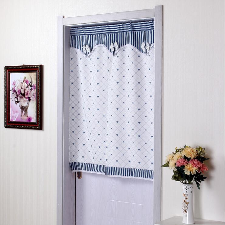 US 40 OFF Fyjafon Door Curtain Printed Half Curtain Door Curtain Pastoral Doorway Kitchen Home Decoration 90X180 90X200 In Curtains From Home