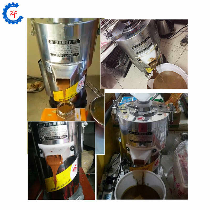 Multifunctional paste grinding machine for sesame almond cashew hazelnut nut peanut butter making machine