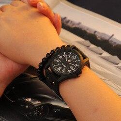 Fashion Men Watch New Mans Clock Men's Date Leather Strap watches Sport Quartz Military Wristwatch Relatio Masculine 5Color