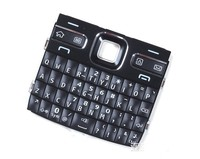 Black Color New Original Housing Main Function Keyboards Keypads Buttons Cover Case For Nokia E72 Free