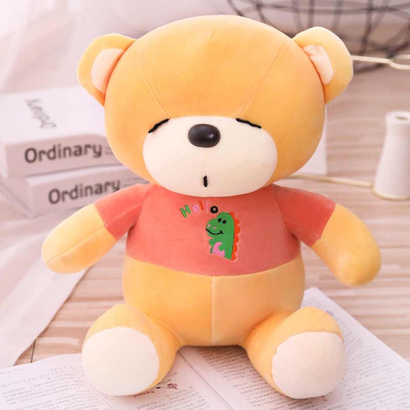 Nounours 1 pc oso de peluche grande urso boneca bonito nossa en peluche stuffed animal de pelúcia super macio brinquedos de pelúcia urso para as crianças do bebê