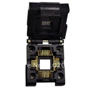 100% NEW PLCC44 IC Test Socket / Programmer Adapter / Burn-in Socket (IC51-0444-400) import block adapter ic51 0562 1387 adapter tsop56 test burn