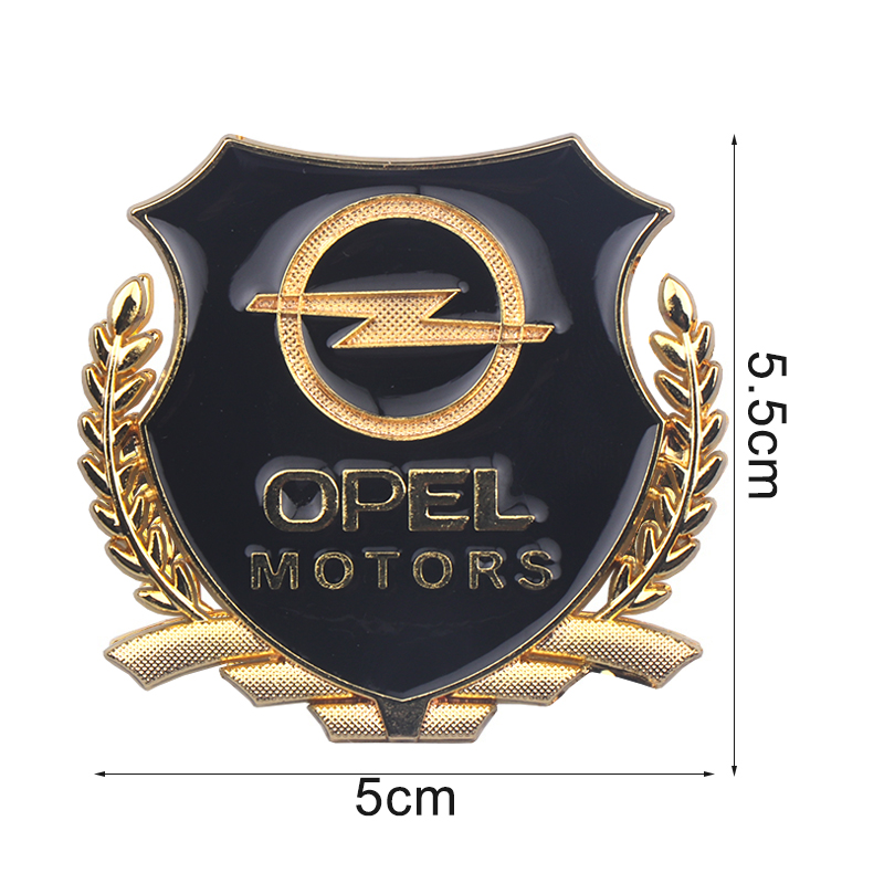 Image 2 - 3D Sticker Auto Emblem Decal For Opel Zafira a b Astra h g j k f Mokka Corsa b c d Vectra Insignia Motors VIP Badge Car Styling-in Car Stickers from Automobiles & Motorcycles