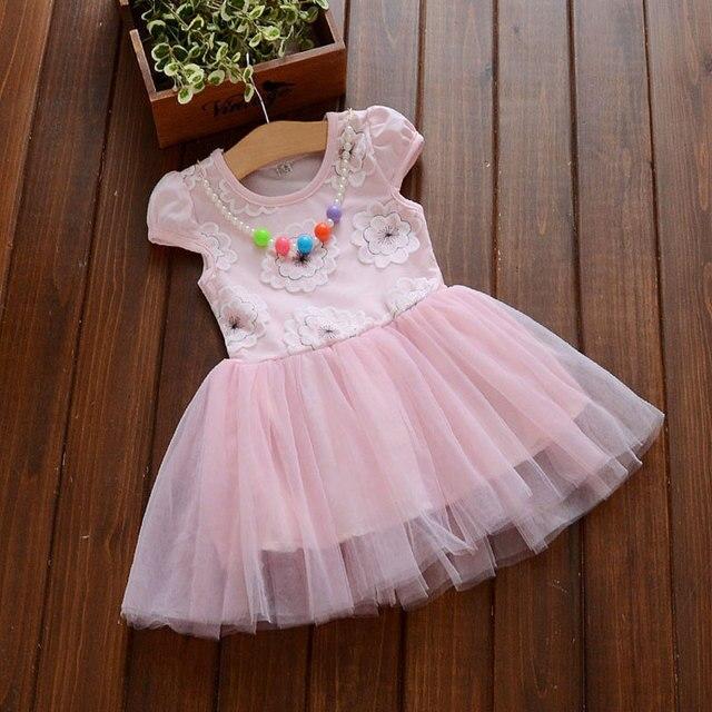 2017 sommer neue mädchen baby kleidung Prinzessin netto tutu kleid ...