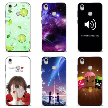 Soft silicone Phone Cases For TP Link Neffos C7 Soft TPU Material Phone Case Back Cover Coque Print painting Flower style
