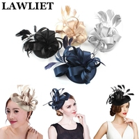 Top Quality Fascinator Stain Head Wear For Women Ladies Flower Hair Accessories Wedding Party Day Life