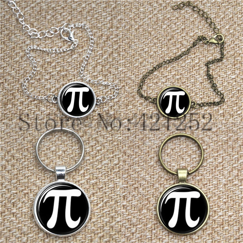 Pi Black Back ground Groom glass Photo Cabochon Necklace keyring bookmark cufflink earring