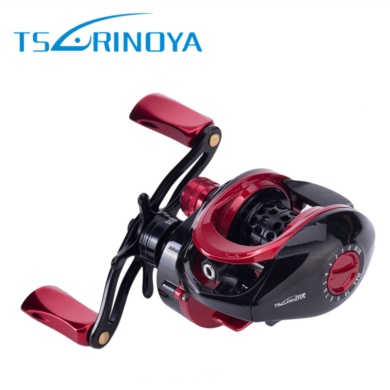 Trulinoya Baitcasting Fishing Reel 9+1BB/6.6:1 Lure Fishing Wheel Carretilhas De Pescaria Carretilha Pesca Moulinet Round Coil 12 1bb 6 3 1 left right hand casting fishing reel cnc fishing reels carp bait baitcasting carretilha de pesca molinete shimano