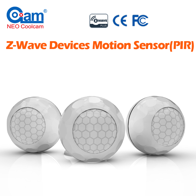 NEO COOLCAM  New Z-wave PIR Motion Sensor Detector Home Automation Alarm System Motion Alarm Smart House Home Security neo coolcam nas pd02z new z wave pir motion sensor detector home automation alarm system motion alarm system eu us version