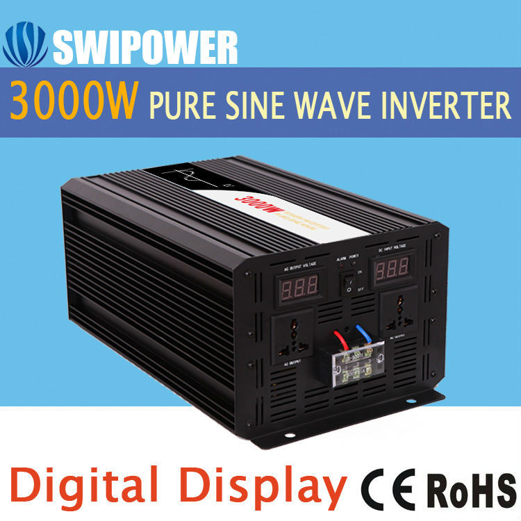 power inverter 3200w pure sine wave ac to dc