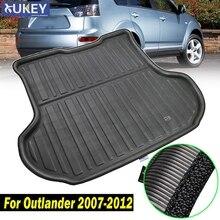 אתחול אוניית אחורי מטען מגש רצפת שטיח מגן 2008 2009 2010 2011 2012 Fit עבור מיצובישי הנכרי 2007 2012