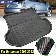 Boot Liner Rear Trunk Mat Cargo Tray Floor Carpet Protector 2008 2009 2010 2011 2012 Fit For Mitsubishi Outlander 2007 2012