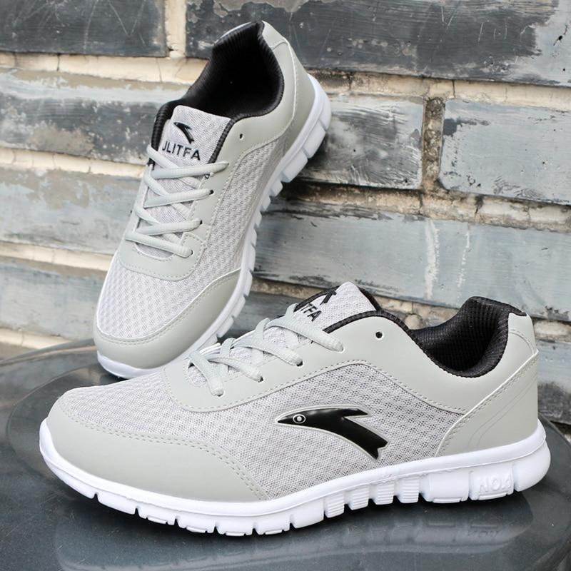 Muške cipele velike veličine 39-46 modne svjetlo mreža breathable - Muške cipele - Foto 4