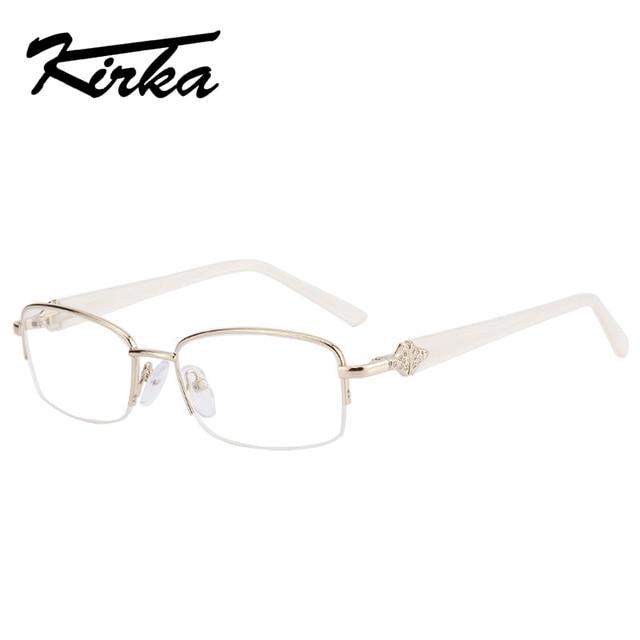 Kirka New Fashion Designer das Mulheres Armações de Óculos de Prescrição  Óculos de Armação Mulheres oculos fe1a15bff4