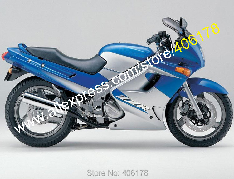 Hot Sales,For Kawasaki Ninja ZZR250 ZZR 250 90 91 92 93 94 95 96 97 98 99 00 01 02 03 04 05 06 07 Blue Motorcycle Fairings