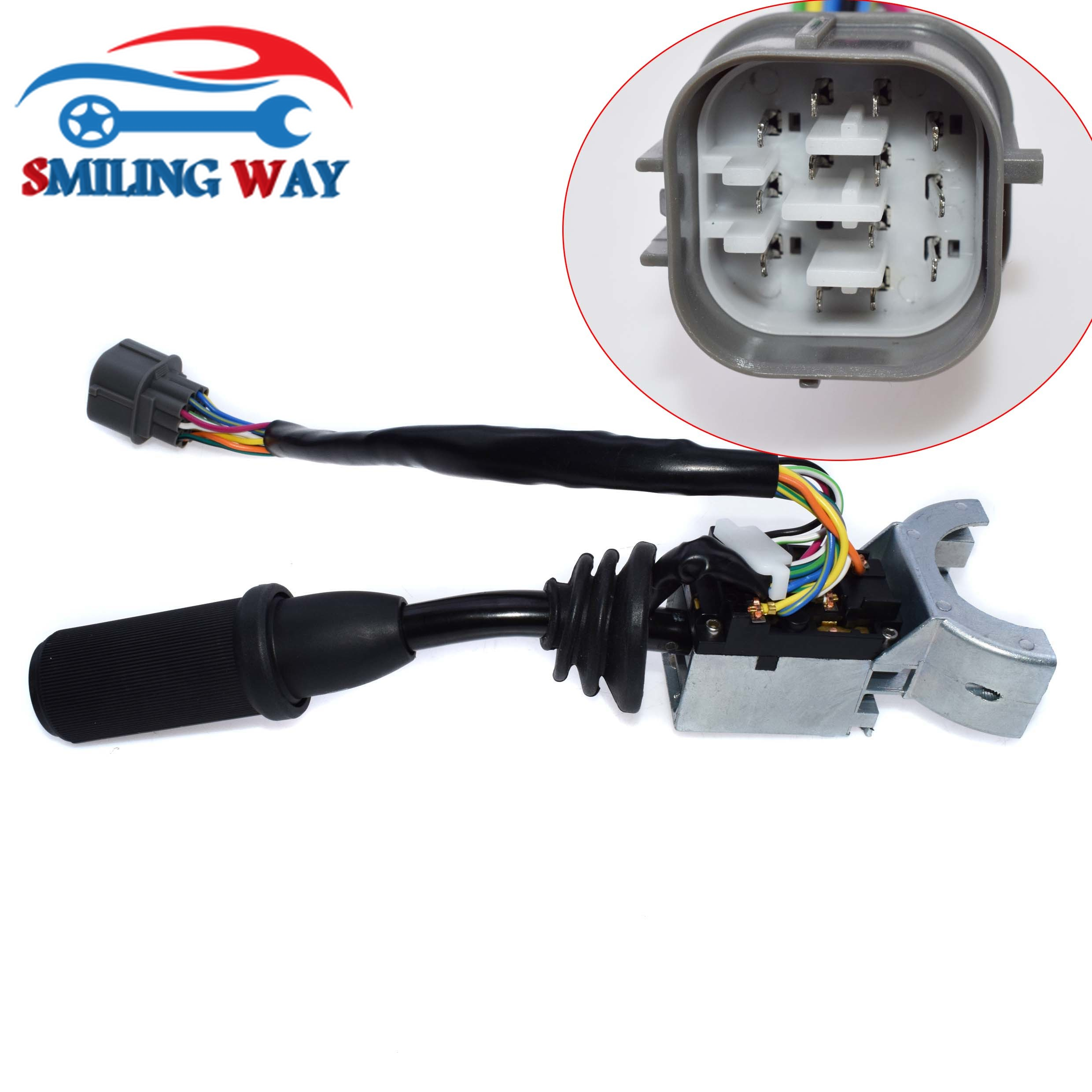 Right Hand Wiper Light Lamp Switch Column Stalk Switch 701 80297 For JCB 3CX 4CX Backhoe