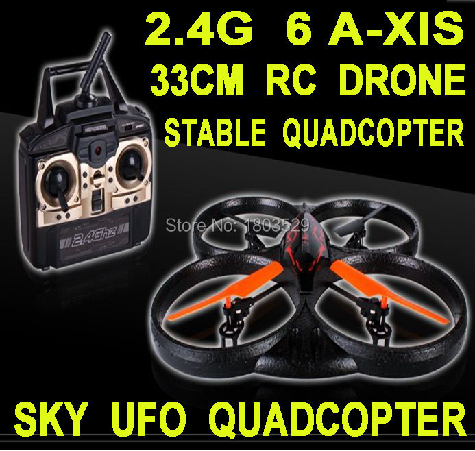 Здесь можно купить  Hot Sell Suitabldesign X39 4 Channel 2.4G 6 Axis Remote Control Quadrocopter Helicopter UFO Foamy Quadcopter With Gyro big Drone  Игрушки и Хобби