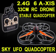 Hot Sell Suitabldesign X39 4 Channel 2.4G 6 Axis Remote Control Quadrocopter Helicopter UFO Foamy Quadcopter With Gyro big Drone