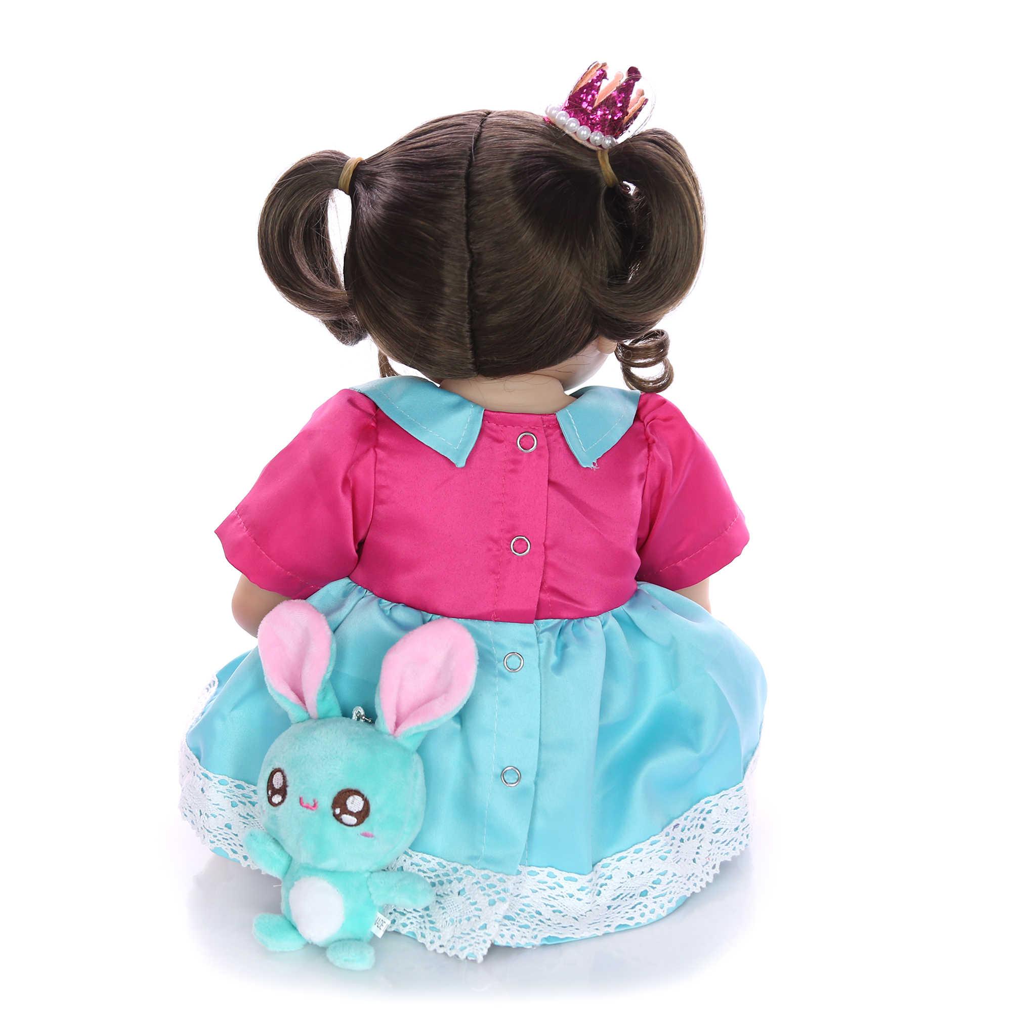 KEIUMI, Новое поступление, 23 дюйма, фантазийные куклы для новорожденных девочек, силиконовые виниловые куклы Boneca для новорожденных, Bebe Alive, подарок на день рождения для детей