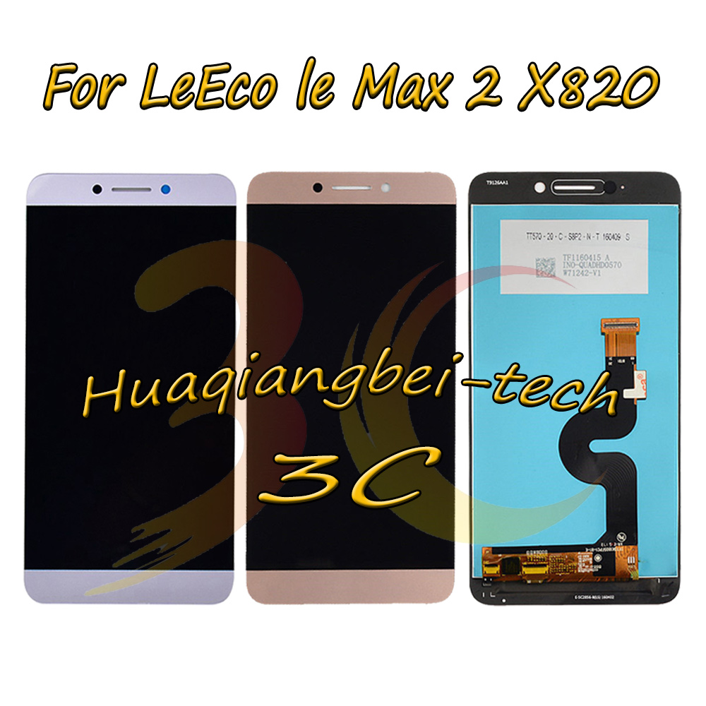 New 5.7'' Full LCD DIsplay + Touch <font><b>Screen</b></font> Digitizer Assembly For Letv <font><b>le</b></font> LeEco Max 2 Max2 <font><b>X820</b></font> X821 X822 X823 X829 Tracking image