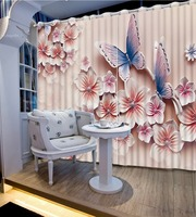 Top Classic 3D European Style Modern relief flower butterfly Classic Home Decor