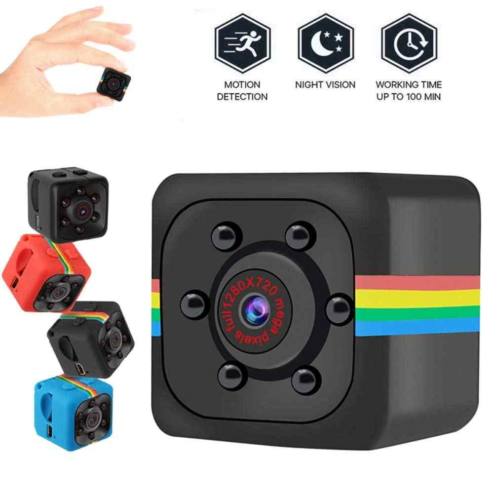SQ11 мини Камера HD 1080 P малый датчик камеры Ночное видение видеокамера микровидеокамера DVR DV (устройство цифровой записи) регистратор движения видеокамера кв 11