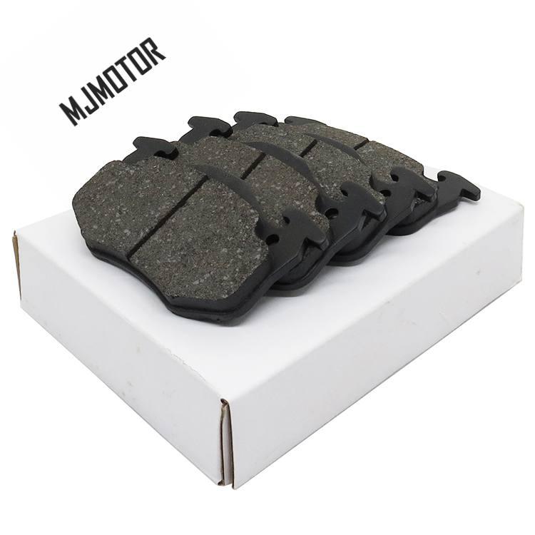(4 pièces/ensemble) plaquettes de frein avant/arrière set PAD KIT-FR frein à disque RR pour PEUGEOT 206 Auto voiture moteur pièces