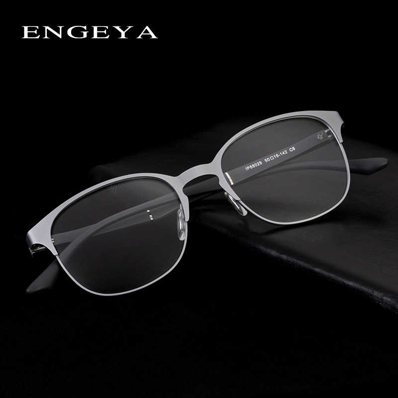 Alloy Round Glasses Frame Women Men Clear Transparent Prescription Myopia Fashion Optical Eyeglasses Frame #IP88028