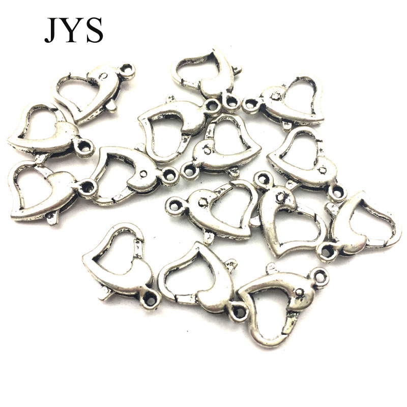 FREE SHIPPING50 PCS/LOT 9*14MM ZINC ALLOY LOBSTER CLASPS HOOKS COMPONENTS FOR JEWELRY MAKING NECKLACE BRACELET FOR JEWELRY
