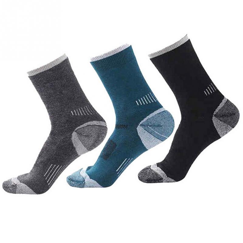 3 paren / pak SANTO herenwollen wollen sokken ademend warme dikker - Sportkleding en accessoires
