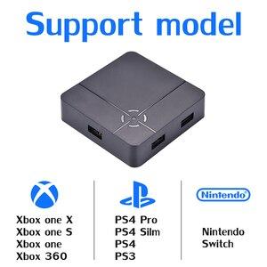 Image 4 - Высококачественный игровой конвертер ReaSnow Cross Hair S1 для PS4 Pro/Slim/PS4/PS3 для Xbox 360/One X/S для Nintend Switch